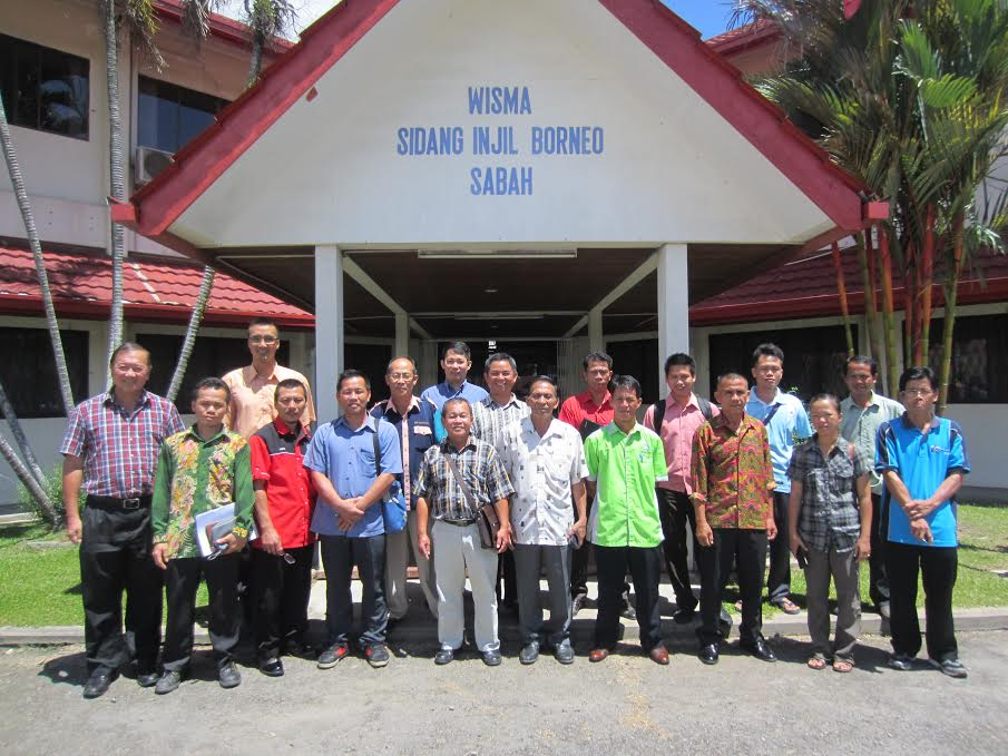The MAP team with the new 15 REAP Sabah evangelists.