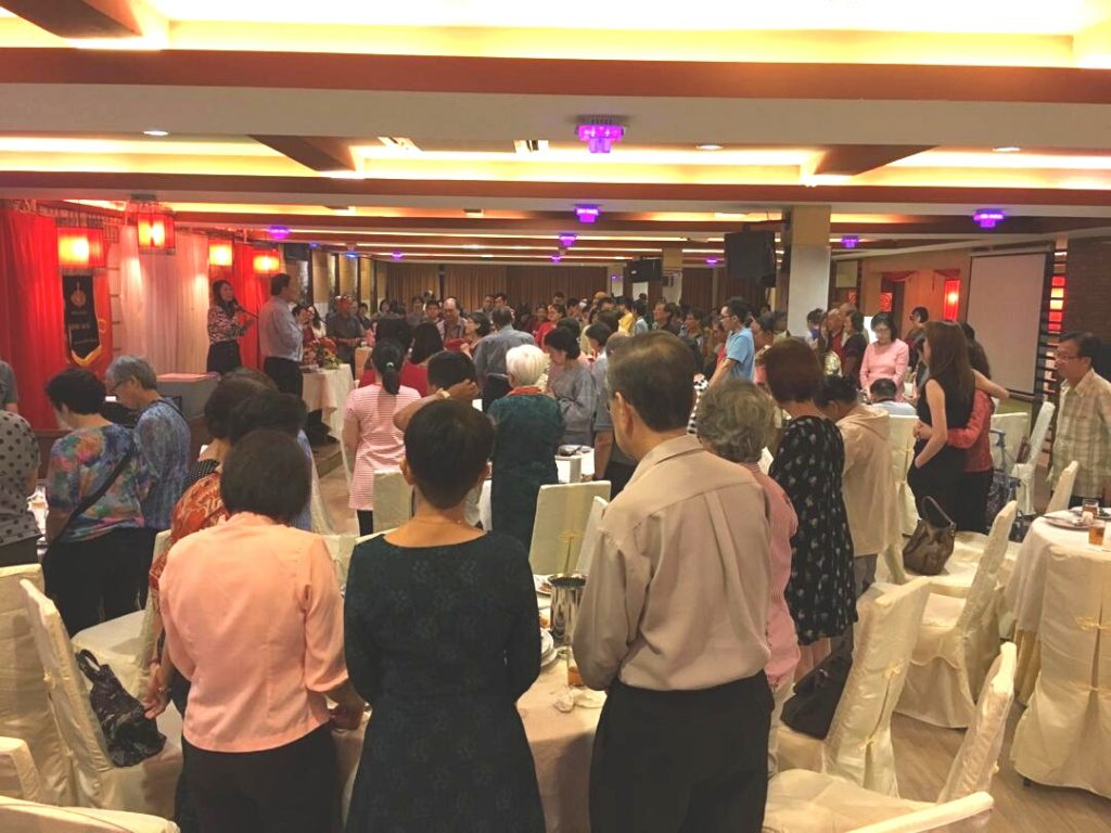 Praise God for over 25 who stood up and prayed to receive Christ as Saviour and Lord at the Dinner event. All glory to God! Pray for good follow-up.